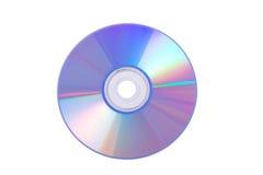 голубое dvd Стоковое Изображение
