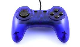 голубое gamepad стоковое изображение rf