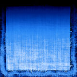 голубое grunge ткани Стоковое Фото