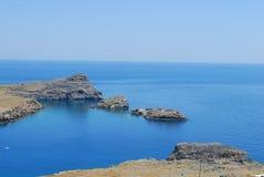 голубое lagun Стоковые Фотографии RF