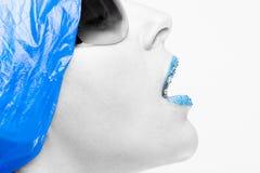 голубое nursey Стоковое Фото