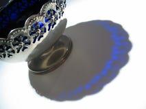 Голубое shadow2 Стоковое фото RF