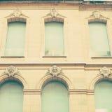 Голубое Windows стоковая фотография rf