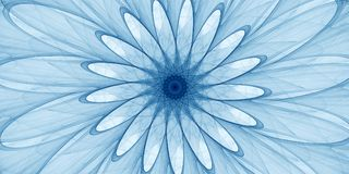 Голубой абстрактный орнамент Стоковые Фото