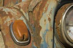 голубой автомобиль фасонируемый старую Стоковое фото RF