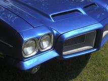 голубой автомобиль Стоковые Фото