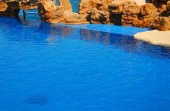 голубой бассеин Стоковые Изображения RF