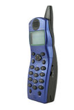 голубой бесшнуровой телефон Стоковые Изображения RF