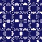 голубой блокировать кругов иллюстрация вектора