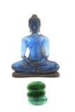 голубой Будда стоковая фотография rf