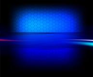 голубой вектор клетки Стоковое Изображение