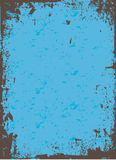 голубой вектор grunge иллюстрация штока