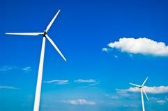 голубой ветер Стоковые Изображения RF