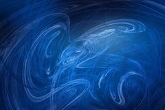 голубой ветер иллюстрация вектора