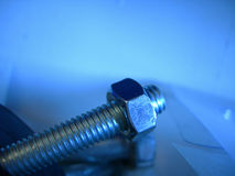 голубой винт Стоковые Изображения RF