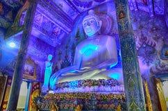 Голубой висок Wat Rong Sua 10 Chiangrai Стоковое Фото