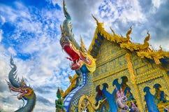 Голубой висок Wat Rong Sua 10 Chiangrai Стоковые Изображения RF