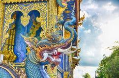 Голубой висок Wat Rong Sua 10 Chiangrai Стоковые Фотографии RF