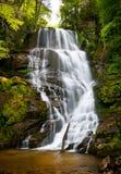 голубой водопад зиги nc гор ландшафта стоковое изображение