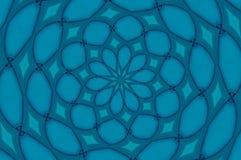 голубой вортекс Стоковое Фото