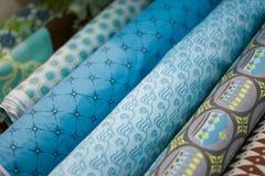 голубой выбор частей одежд Стоковое Изображение