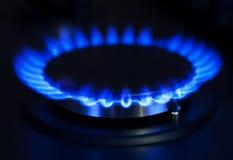 Голубой газ Стоковые Изображения RF