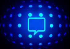 голубой глобус Стоковое фото RF