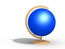 Голубой глобус Стоковое Фото