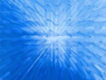 голубой глубокий студень Стоковые Фотографии RF