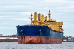 голубой грузовой корабль Стоковая Фотография RF