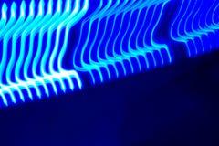 голубой двигать СИД стоковые фото