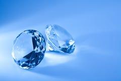 голубой диамант Стоковая Фотография RF