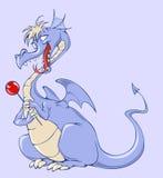 голубой дракон Стоковые Фотографии RF