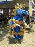 голубой дракон стоковое изображение rf