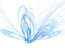голубой дым Стоковая Фотография