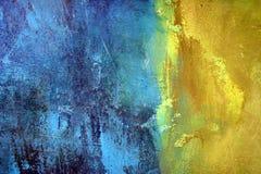 голубой желтый цвет Стоковые Фото