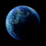 голубой завод Стоковое фото RF