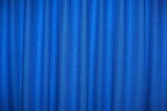 голубой занавес Стоковые Фотографии RF