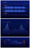 голубой звук лаборатории Стоковая Фотография RF