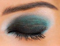 голубой зеленый цвет Стоковые Фото