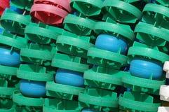 голубой зеленый цвет floaters Стоковая Фотография RF