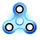 Голубой значок обтекателя втулки стоковое фото rf