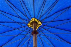 голубой зонтик Стоковая Фотография RF