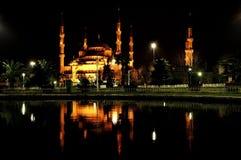 голубой индюк мечети istanbul Стоковое Изображение