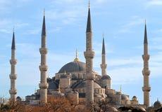 голубой индюк мечети istanbul Стоковая Фотография RF