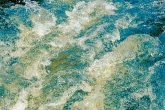 Голубой и зеленый сбивая конспект воды стоковые фото