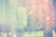 Голубой и розовый абстрактный сияющий свет Стоковое Изображение