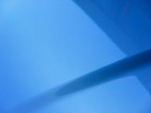 голубой клобук автомобиля Стоковое Изображение RF