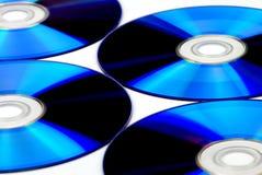 голубой компактный диск Стоковое Изображение