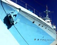 голубой корабль Стоковые Изображения RF